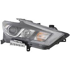 Fits 2016-2017 Nissan Maxima S/SV/SL Passenger Right Halogen Headlight Lamp