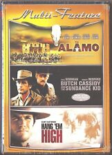 Alamo / Butch Cassidy and the Sundance Kid / Hang 'Em High Dvd 3 Westerns Films