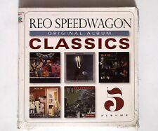 REO Speedwagon – Original Album Classics 888837193924 EU 5CD BOX SET SEALED