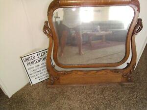 Antique Dresser Top Mirror