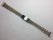 13MM SOLID JUBILEE WATCH BRACELET BAND STRAP FOR ROLEX TUDOR GOLD/SS TWO-TONE
