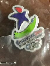 Olympic Pin Singapore Youth Olympic Games 2010 NIP