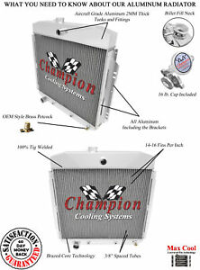 3 Row BC Champion Radiator for 1957 1958 1959 1960 Ford F-100 Ford Configuration