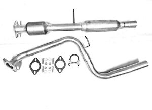 Fits: 2010 To 2013 Mazda 3 2.0L/2.5L Catalytic Converter & Rear Pipe Direct Fit
