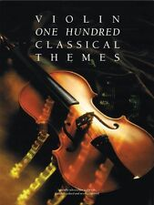 100 Classical Themes for Violin Book NEW 014036701