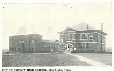 VIntage Postcard-COffee County High School, Manchester, TN