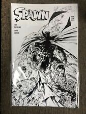 SPAWN 314D 1:5 black white line Capullo McFarlane variant cover NEW IMAGE 2021