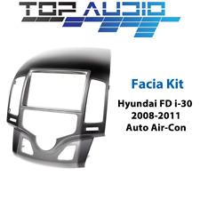 fit Hyundai i30 Auto Air Double Din car stereo facia fascia kit dash panel trim