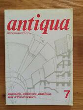 Rivista d'archeologia Antiqua n.7 dicembre 1977