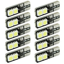 10pcs CANBUS ERROR FREE LED White T10 168 194 W5W Wedge 4 SMD 5050 Light bulb
