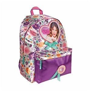 Disney VIOLETTA - Large Backpack with Pocket