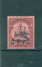 Ungebrauchte Briefmarken aus Deutsch-Ostafrika mit Falz
