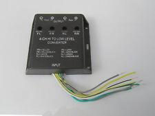 4 fach Cinch High Low Adapter Verstärker Interface Converter Original Radio RCA