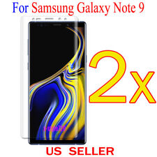 2x Full Cover Curved Clear Screen Protector Guard Film For Samsung Galaxy Note 9
