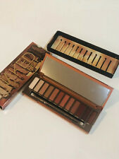 Urban Decay Naked Heat Eye Shadow Palette Mirrored 12 Colours & Brush. New!