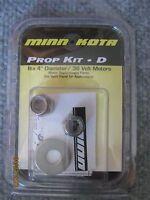 New Minn Kota Minnkota Trolling Motor Prop Kit D Nut Washer Fishing Boat 36 Volt