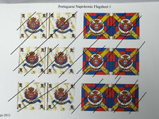15mm Napoleonic Portuguese  flags 1