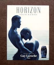[GCG] I083- Advertising Pubblicità - HORIZON POUR HOMME , GUY LAROCHE PARIS