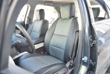 GMC TERRAIN 2010-2014 IGGEE S.LEATHER CUSTOM FIT SEAT COVER 13COLORS AVAILABLE