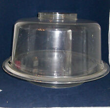 Acrylic Container Buffet Picnic Caddy Domed Ice Chill Food Salad Cake 3 Pc Large