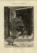 1890 No Admittance For The Christmas Goose Lucien Davis