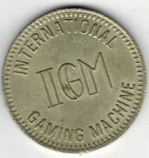 Peru Casino Chip Token IGM International Gaming Machine ficha de Juego (37mm)
