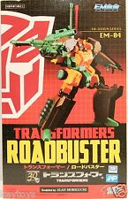 Takara TOMY Transformers Fewture Action Toys EM Gokin 04 EM-04 Roadbuster Figure