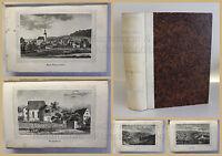 Schmitt Die Oberlausitz Kirchengalerie 1837 Landeskunde Sachsen mit Lithografien