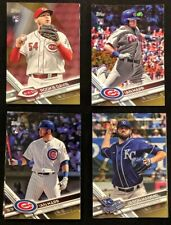 2017 Topps Update Series Baseball Gold #d /2017 Cards Lot You Pick