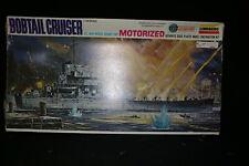 Lindberg Motorized US Navy Bobtail Cruiser Rare  1/160 Scale Model Kit  6