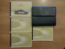 Maserati Spyder Owners Handbook Manual and Wallet