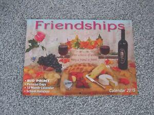 Friendships Calendar (Australian 2015)