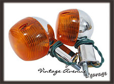 [LG714] YAMAHA AT1 AT2 AT3 CT1 CT2 CT3 *REAR* TURN SIGNAL FLASHER LAMP 1PAIR 12V