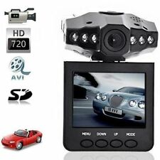 "TELECAMERA AUTO MINI HD DVR MONITOR LCD 2.5"" 6 LED VIDEOREGISTRATORE USB SD"