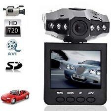 """TELECAMERA AUTO MINI HD DVR MONITOR LCD 2.5"""" 6 LED VIDEOREGISTRATORE USB SD"""