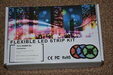 Flexible LED strip kit RGB Color Change 5050 Waterproof Strip Light Cutable 5M