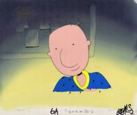 DOUG FUNNIE Original Production Cel Cell Animation Art Nickelodeon COA 1990s PJs