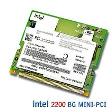 DELL INTEL WIRELESS 2200BG 11G 54MBPS MINI PCI CARD
