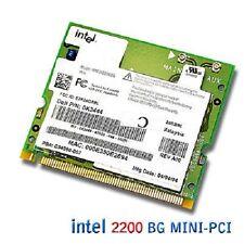 Dell Intel Wireless 2200bg 11g 54mbps Mini Pci Card