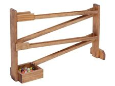 MARBLE Roller Wood Track Handmade in USA Wooden Toy  School Play Therapy