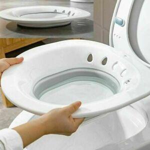 Langlebige faltbare Hüftbadewanne Sitzbad auf Toilette für Hämorrhoiden