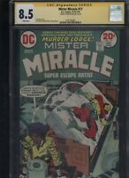 Mister Miracle #17 CGC 8.5 SS Mike Royer 1973-1974 JACK KIRBY