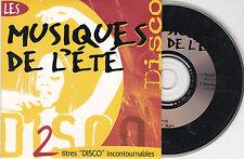 CD CARTONNE CARDSLEEVE COLLECTOR 2T PATRICK HERNANDEZ ET BOYS TOWN GANG 1996