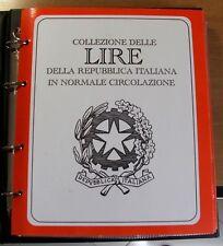 REPUBBLICA ITALIANA - COLLEZIONE MONETE DAL 1948 AL 1999 SU ALBUM SPECIFICO