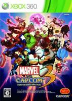 UsedGame Xbox360 Marvel vs Capcom 3 Fate of Two Worlds [Japan Import] F/S