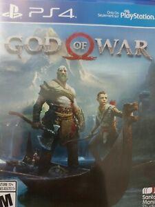 God of War PlayStation 4 Ps4