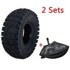 2PCS 9X3.5-4 3.00-4 Tire Tyre and Tube for Go kart ATV Razor E300 E90 MX Scooter