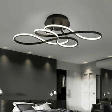 Modern Acrylic LED Chandelier Dining Room Ceiling Light Pendant Lamp Fixtures