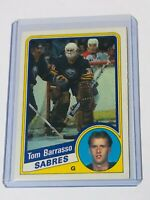 1984-85 O PEE CHEE TOM BARRASSO ROOKIE CARD 18 SABRES