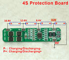 4A-5A BMS Protection Board for 4 Pack 18650 Li-ion Lithium Battery Cell 4S 16.8V
